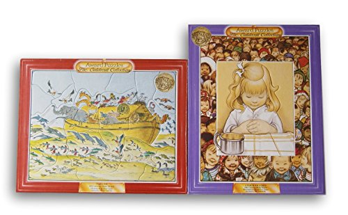 Caldecott Framed Jigsaw Puzzle Set - Noahs Ark and A Prayer For A Child