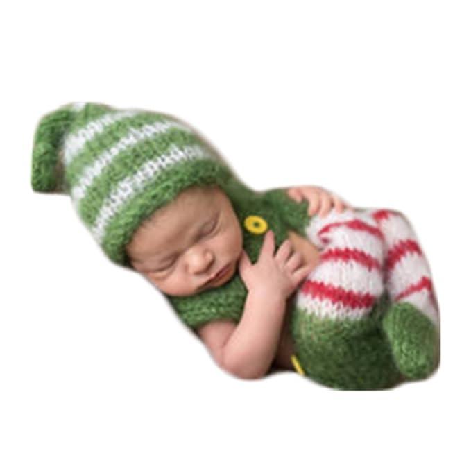 4ed86aed0d6 Amazon.com  Cute Newborn Baby Boy Girl Photography Photo Shoot Props ...