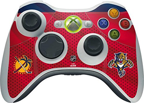 SKINIT NHL Florida Panthers Xbox 360 Wireless Controller Skin - Florida Panthers Jersey Vinyl Decal Skin For Your Xbox 360 Wireless Controller