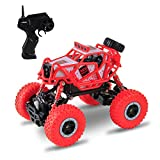 #5: Remote Control Car, Beyond CR 2.4Ghz 1/18 RC Rock Crawler Vehicle Buggy Car 4 WD Shaft Drive High Speed Monster Off Road Truck Crawler
