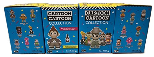 (Cartoon Network Series 2 Sealed Boxes 4 Vinyl Figures by Titans)
