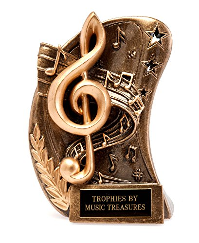 - Music Treasures Co. Curved Resin Award