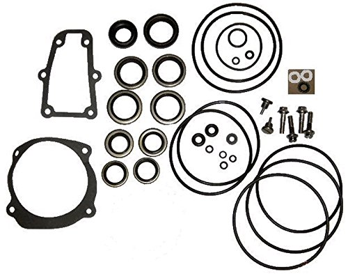 - Complete Lower Unit Seal Kit for Johnson Evinrude V4, V6, V8 replaces 5006373 5000411