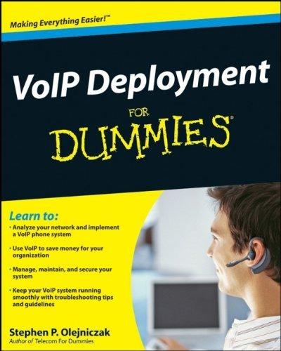 VoIP Deployment For Dummies ()
