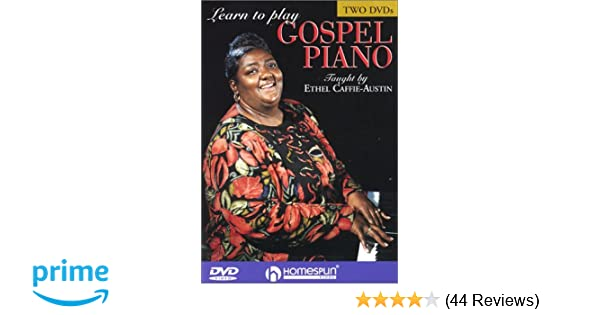 Amazon com: Learn to Play Gospel Piano: Ethel Caffie-Austin