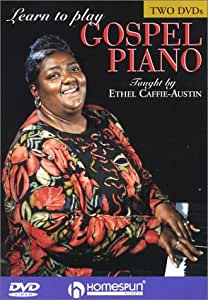DVD- Learn To Play Gospel Piano