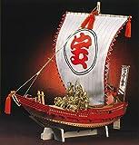 木製和船模型 1/30宝船(塗料付)