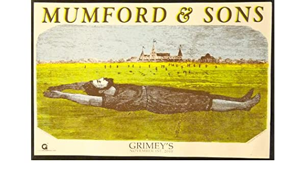 Amazon.com: Mumford and Sons - Live at Grimeys - Rare Advertising ...