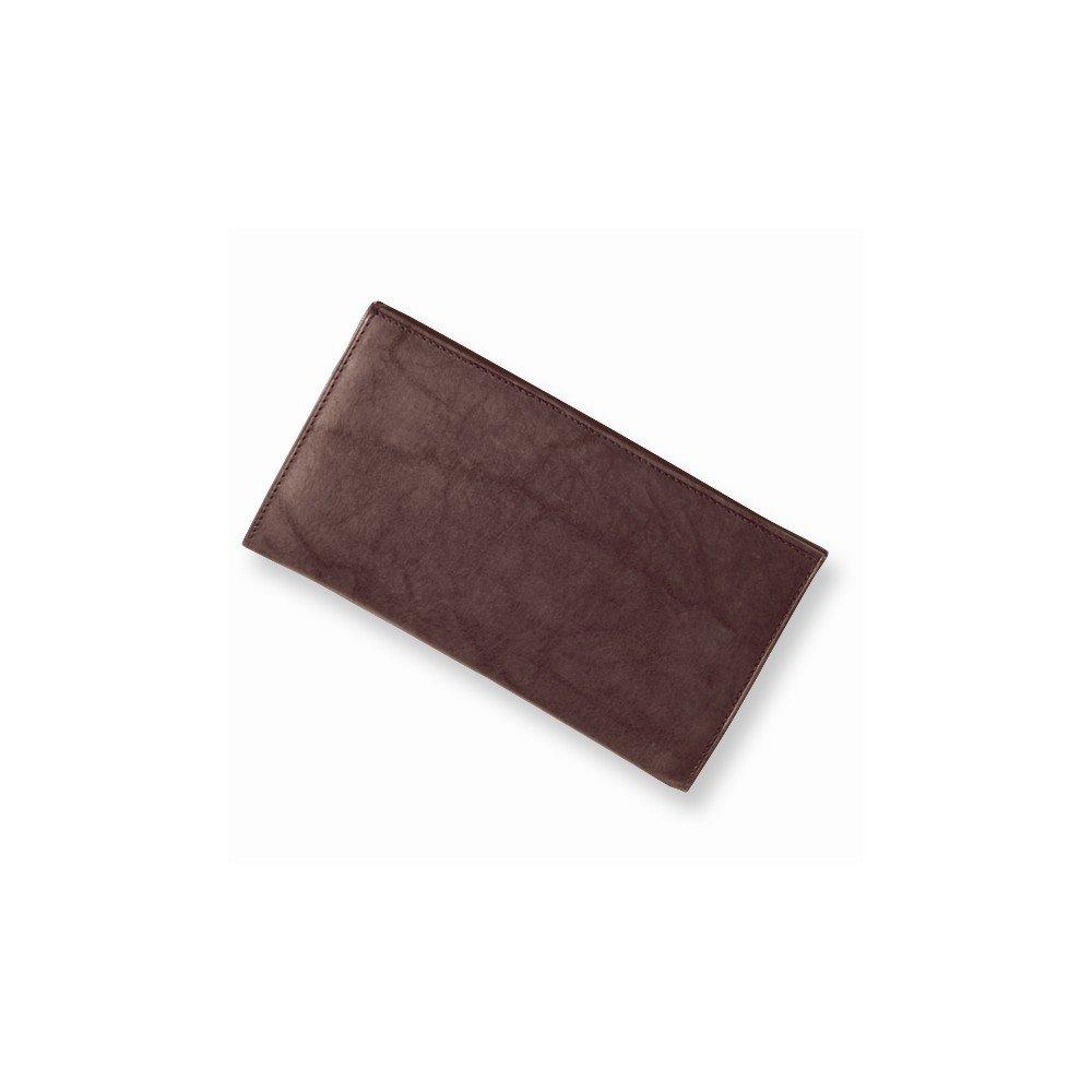 Best Designer Jewelry Brown Leather Jacket Checkbook Wallet