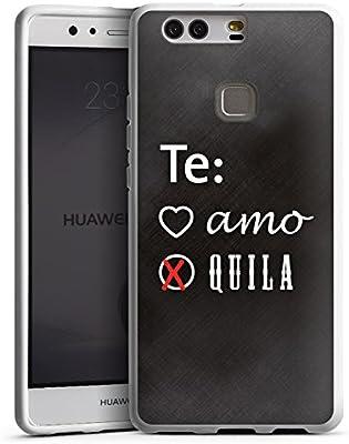 Huawei P10 Plus Carcasa Case Funda Móvil Party Amor Sprüche ...