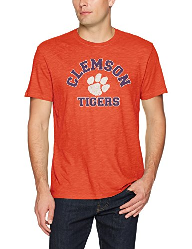 NCAA Clemson Tigers Men's Ots Slub Distressed Tee, X-Large, Orange