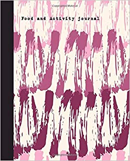 food and activity journal track your meal activity water sleep