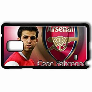 Personalized Samsung Note 4 Cell phone Case/Cover Skin About The Best Player In The EPL FIFA UEFA Football Black by mcsharks