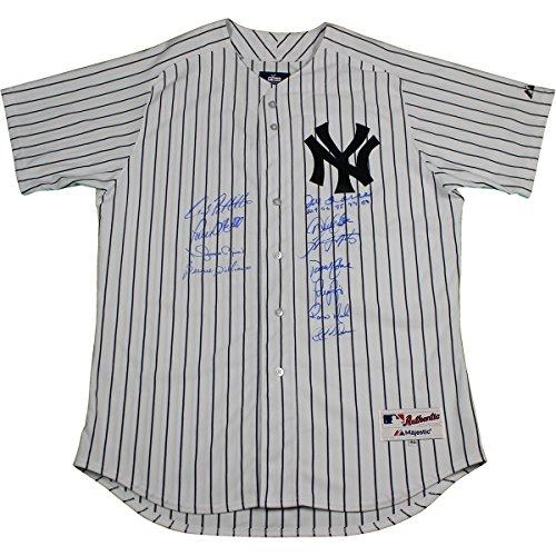 New York Yankees Dynasty 11 Signature Derek Jeter Authentic #2 Home Pinstripe (Steiner Derek Jeter Signature Baseball)