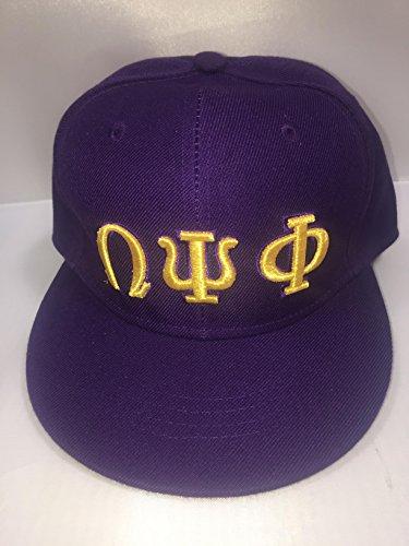 Fraternity Baseball (Omega Psi Phi Fraternity 3 Letter Baseball Cap Size - 7)