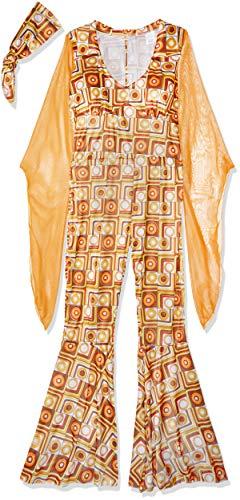 (Fun World Women's Disco Diva Costume, Multi,)