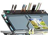 SD STUDIO DESIGNS Modern Premier Metal Tray 36'' for Art/Craft Table