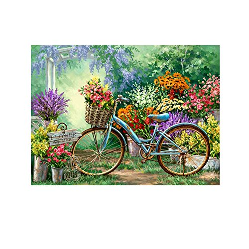 5D DIY Diamond Painting ,Cross Stitch Kit ,Awakingdemi Bike