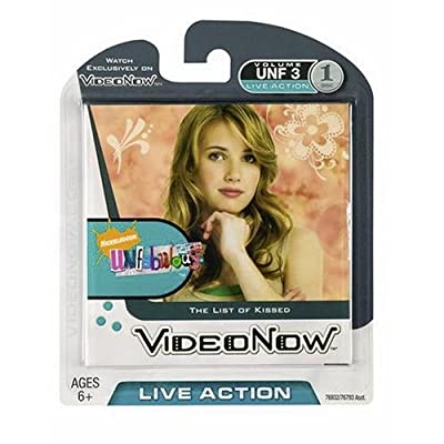 Hasbro Videonow Personal Video Disc: Unfabulous - The List of Kissed: Toys & Games