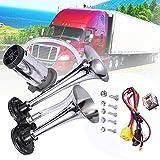 Best Air Horn Kits - MKING 12V 150dB Car Air Horn Kit, Super Review