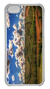 Customized iphone 5C PC Transparent Case - Farmland 2 Personalized Cover