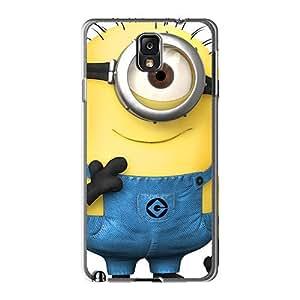 KennethKaczmarek Samsung Galaxy Note 3 Perfect Hard Cell-phone Case Unique Design HD Despicable Minion Pattern [TrX4298WpJl]