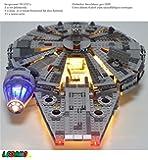 LED Set für LEGO Millenium Falcon 24 LED´s 75105, 7965 & 4504
