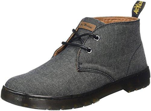 Boots Martens Black Chambray Black Black Twill Dr Desert Men's Mayport 70wqvq