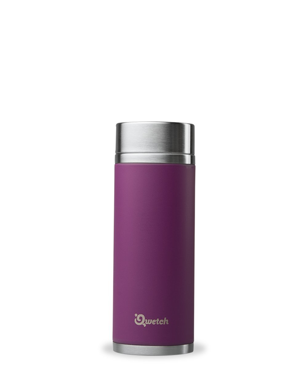 Qwetch - Théière Nomade Isotherme en Inox - 300ml - Pourpre product image
