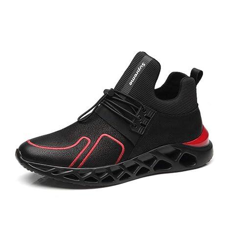 5abe74bc080 YAXUAN Ligeras Zapatos Casuales de los Hombres Súper Ligero Suave Cómodo  Zapatillas de Deporte de Moda