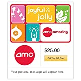 AMC Theatres Joyful and Jolly Gift Cards - E-mail Delivery