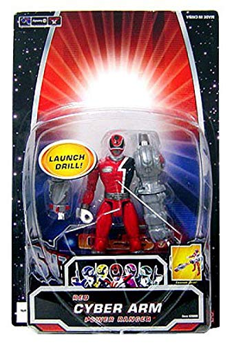 (Power Rangers SPD Cyber Arm Action Figure Red Ranger)