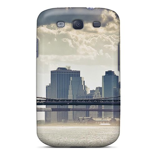 Manhattan Mist (For DAU386TPTy Mist Under Brooklyn Manhattan Bridges Protective Case Cover Skin/galaxy S3 Case Cover)