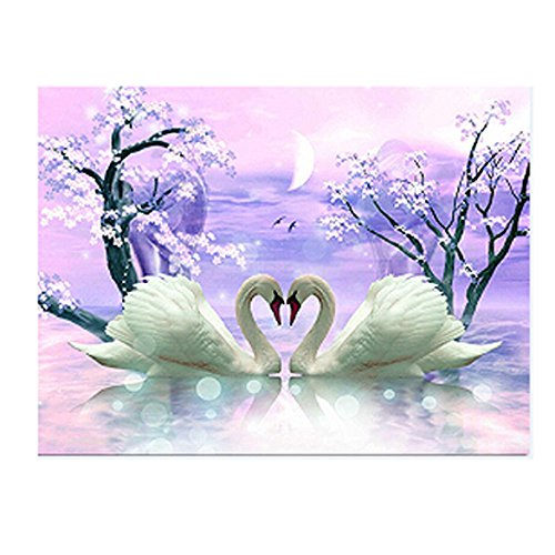 Creative VIASA 5D Embroidery Paintings Rhinestone Pasted DIY Diamond painting Cross Stitch For Wall - Fort Apex Worth