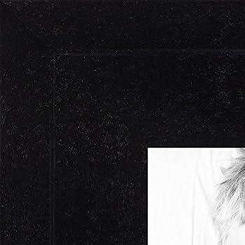 Amazon.com - ArtToFrames 10x26 inch Satin Black Picture Frame ...