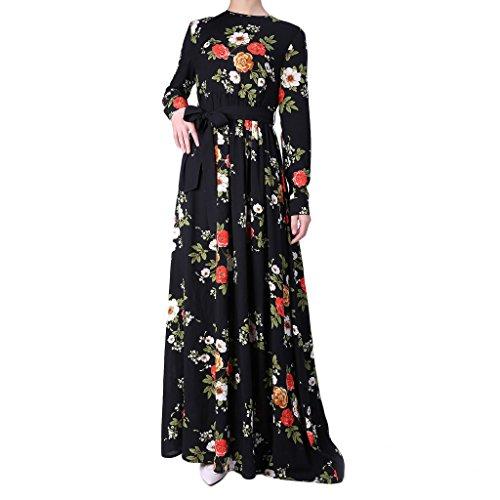 INGSIST Muslim Hijab Arabic Dresses, L