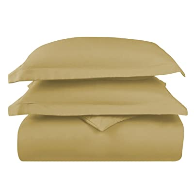 Hotel Luxury 3pc Duvet Cover Set-ON SALE TODAY-1500 Thread Count Egyptian Quality Ultra Silky Soft Top Quality Premium Bedding Collection, 100% -King Size Camel