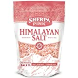 Sherpa Pink Himalayan Salt 25 lb. Coarse Bulk Bag - Ideal for Salt Grinders & Salt Mills