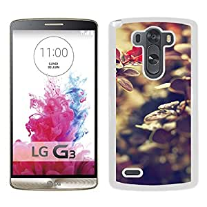 New Pupular And Unique Designed Case For LG G3 With Fairy Leaf White Phone Case