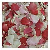 Pretty In Pink Rose Petals - 120 cups Real Rose Petals. Wedding Petals.