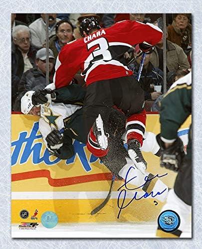 Zdeno Chara Ottawa Senators Autographed Signed Thumps Modano 8x10 Photo At Amazon S Sports Collectibles Store