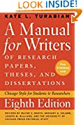 #4: A Manual for Writers of Research Papers, Theses, and Dissertations, Eighth Edition: Chicago Style for Students and Researchers (Chicago Guides to Writing, Editing, and Publishing)