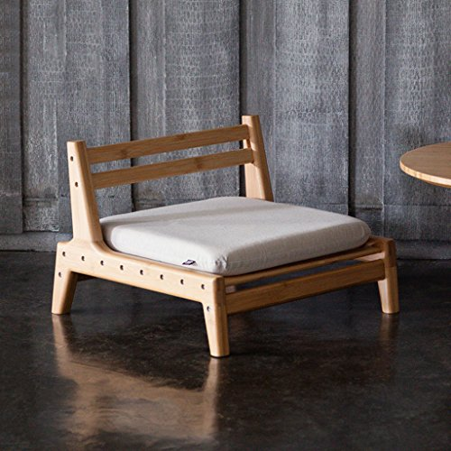 HYLR Japanese wooden stool, casual chair, tatami Floor Chair