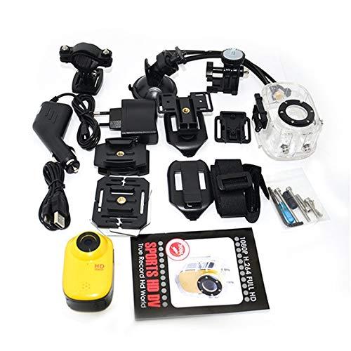 Functy Mini Screen DVR Helm Videokamera Bike Action Sport Cam Camcorder Wasserdicht