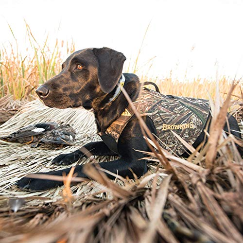 Browning Camo 3mm Neoprene Dog Vest | Realtree MAX-5 | Size Large