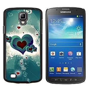 Stuss Case / Funda Carcasa protectora - Amour vert Crimson Red - Samsung Galaxy S4 Active i9295