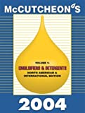 McCutcheon's Emulsifiers and Detergents : North American and International Edition, MC, 0944254969