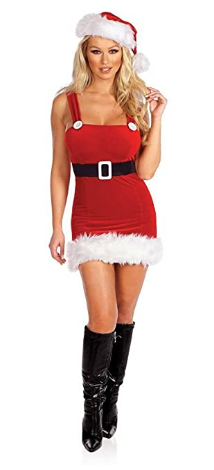 Deluxe Sexy Miss Naughty Santa Outfit  sc 1 st  Amazon UK & Deluxe Sexy Miss Naughty Santa Outfit: Amazon.co.uk: Toys u0026 Games