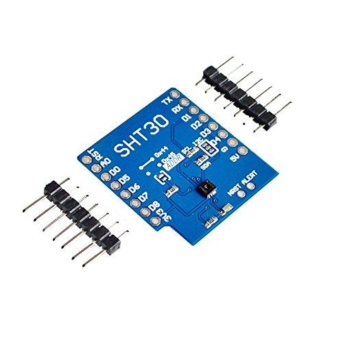 Price comparison product image Exiron SHT30 Shield I2C Digital Temperature and Humidity Module For WeMos D1 Mini