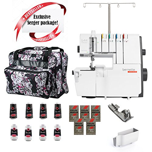 Bernette B 44 Overlock Machine w/ Limited time Serger Package!